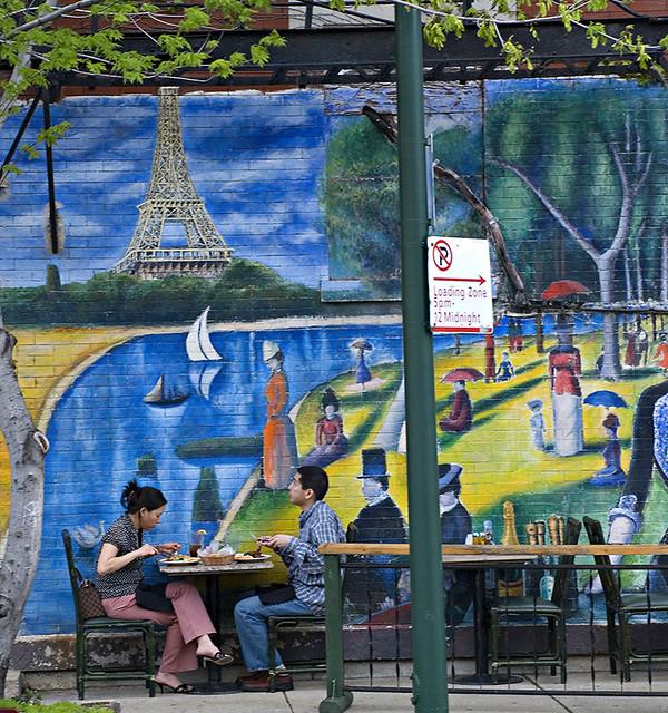 Cafe Bernard Loading Zone