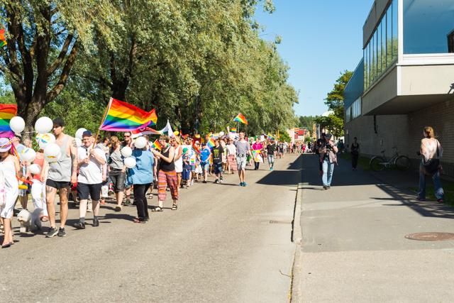 Pride Hudiksvall 2015