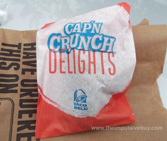Taco Bell Cap'n Crunch Delights