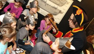 Pirate Party at Vancouver Maritime Museum