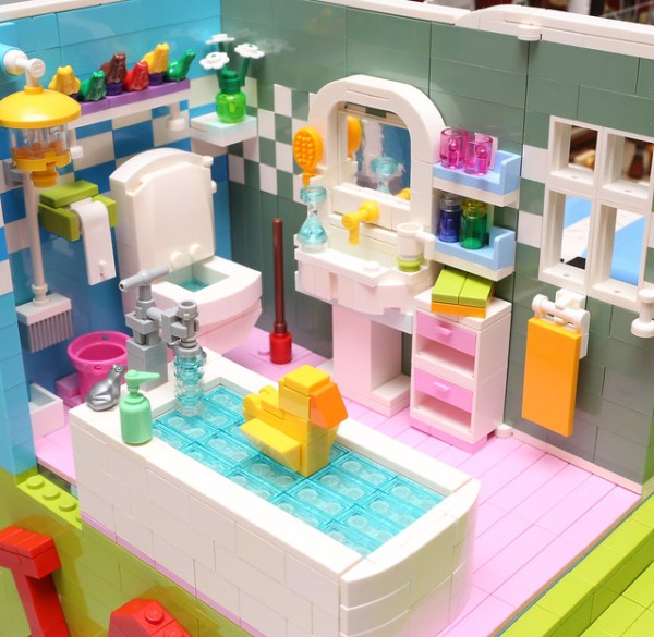 This is the house that alanboar built the brothers brick lego blog - Lego house interior ...