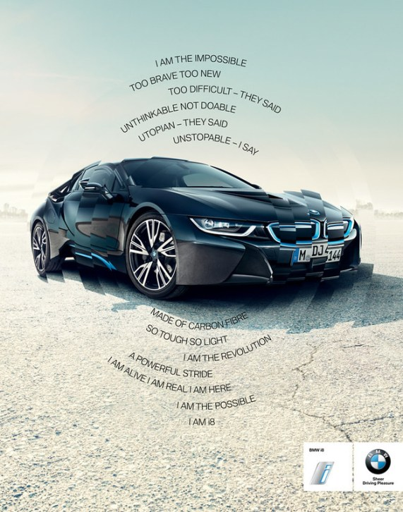BMW i8 - I am the impossible 1