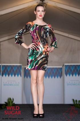 Ladybird Sheath Dress with Bishop Sleeves