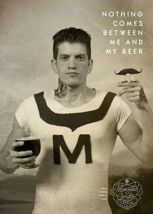 Monsieur Gordo Brewery - Moustaches 1