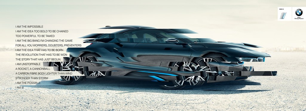 BMW i8 - I am the impossible 2