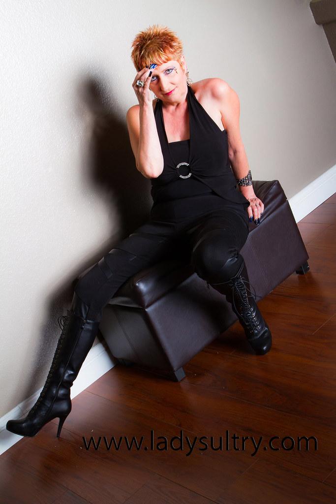 mature leather mistress