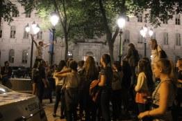 Night Crowds at Festival d'été de Québec