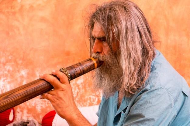 Iranian Didgeridoo