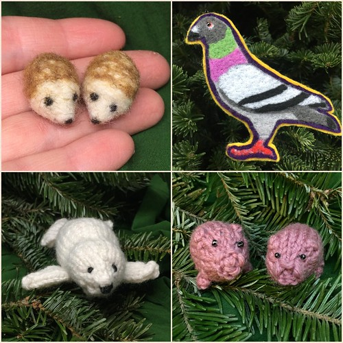 Handmade ornaments 5-8