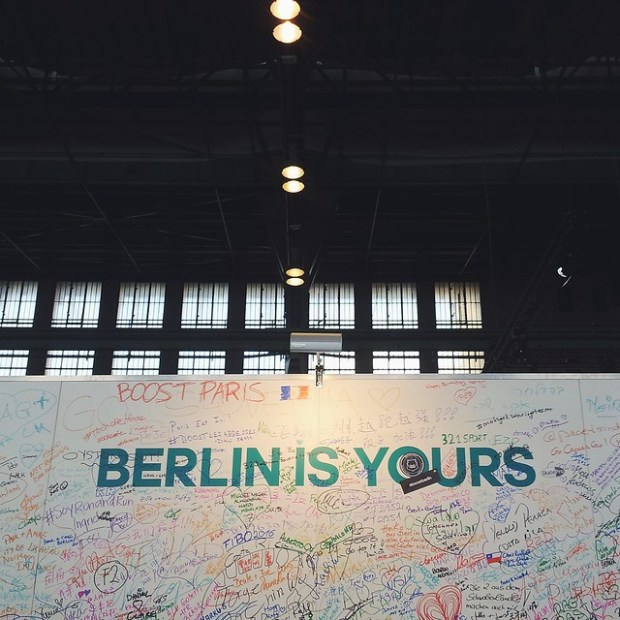 Berlin is yours | From Instagram @noapathyallowed