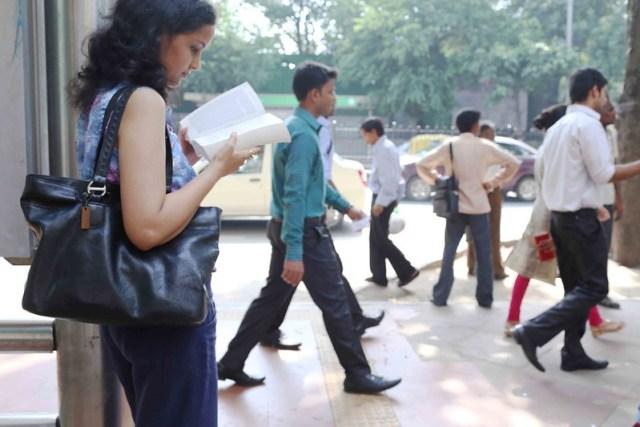City Life - Reading Rebecca West, Delhi Metro & KG Marg