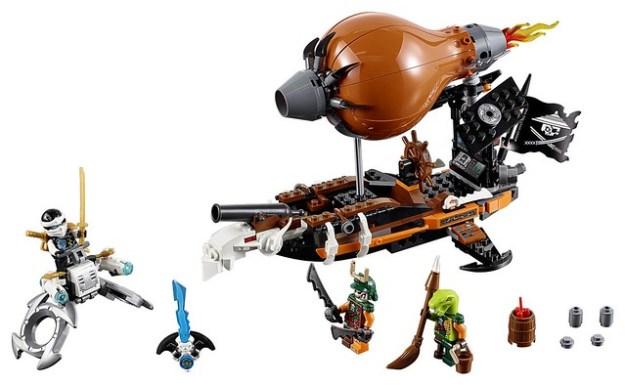 70603 Ninjago Raid Zeppelin (2)