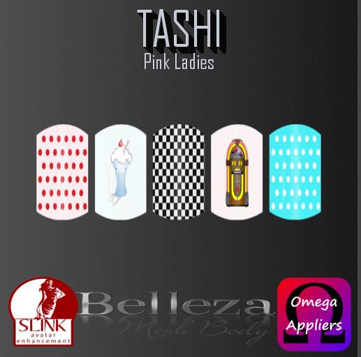 TASHI Pink Ladies