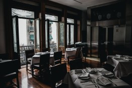 El Cardenal   The historic interior