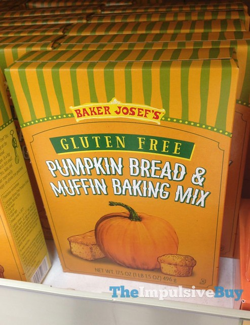 Baket Josef's Gluten Free Pumpkin Bread & Muffin Baking Mix