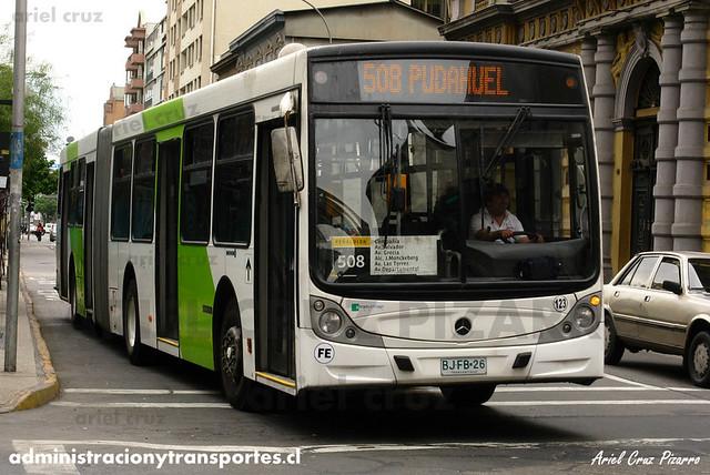 Transantiago - Metbus - Caio Mondego HA / Mercedes Benz (BJFB26)
