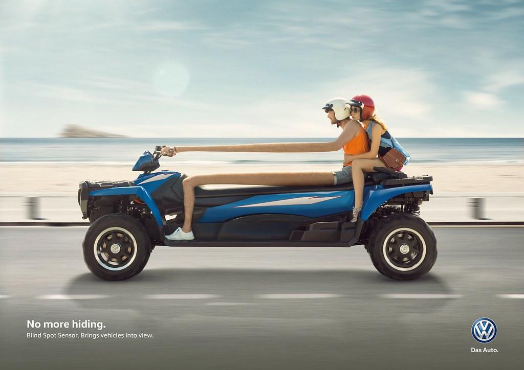 Volkswagen Blind spot sensor - No more hiding