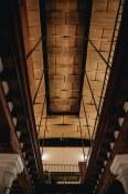 Casa Oaxaca   A stunning ceiling made of woven palm.