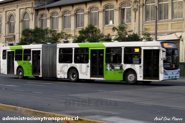 Transantiago - Metbus - Caio Mondego HA / Mercedes Benz (BJFC50)