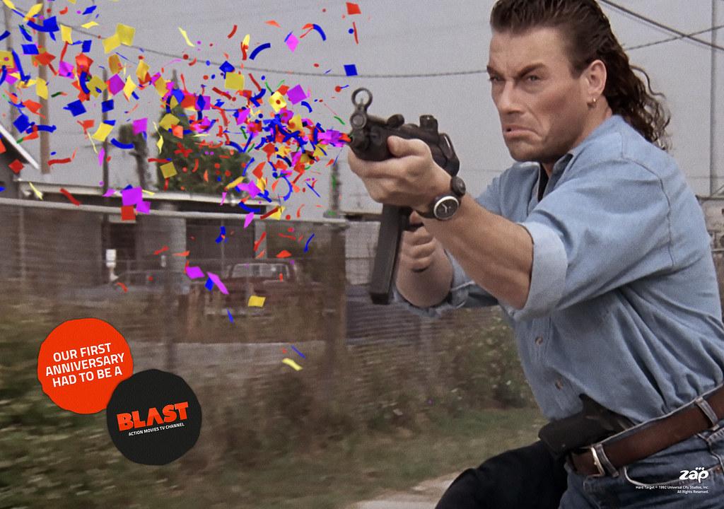 Blast Tv Channel - Anniversary Van Damme