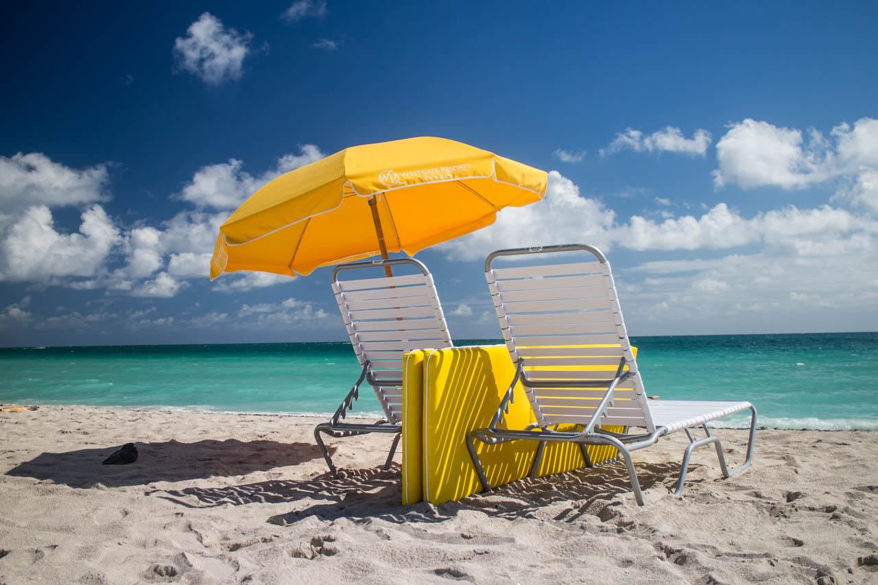 Las playas de South Beach son las mas concurridas por los miles de turistas que visitan Miami todo el año. (Tetsu Espósito)
