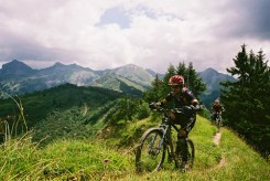Alpine riding - Amit