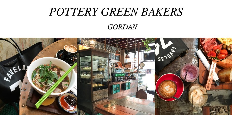 pottery Green bakers Gordan