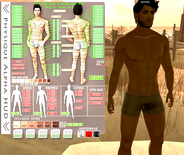 Slink Physique Male
