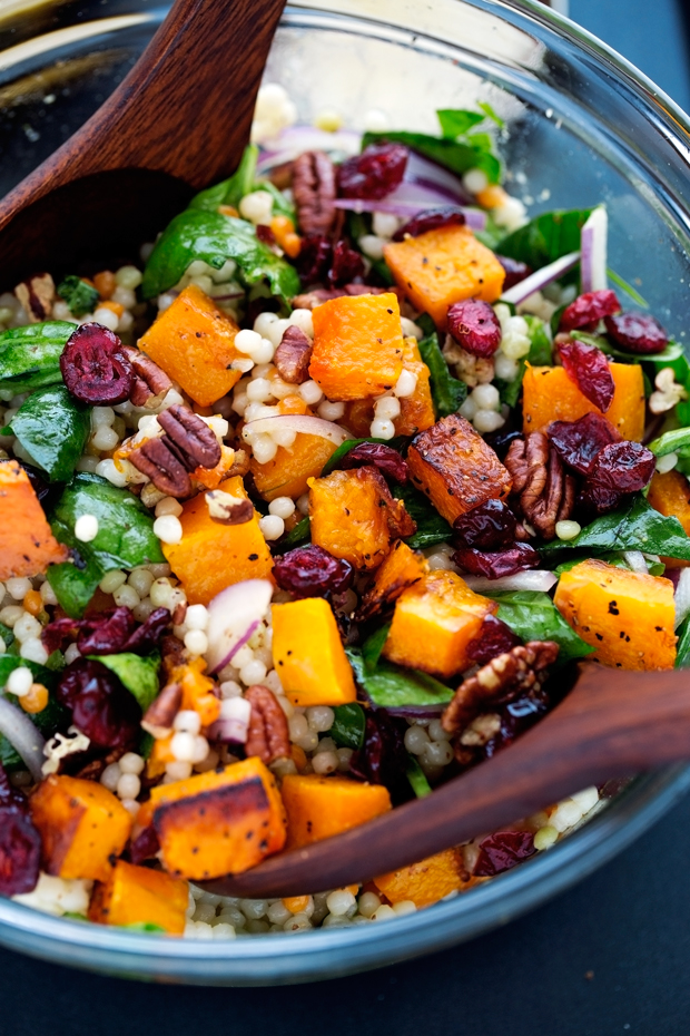 couscous salad is the epitome of Autumn! Loaded with roasted butternut ...