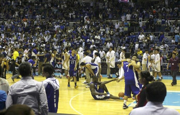 Ateneo vs NU basketball game