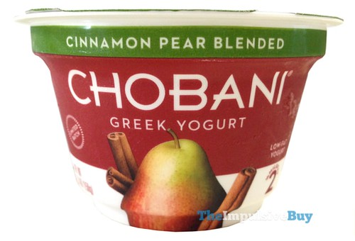 Chobani Limited Batch Cinnamon Pear Greek Yogurt