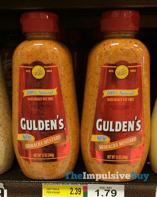 Gulden's Sriracha Mustard