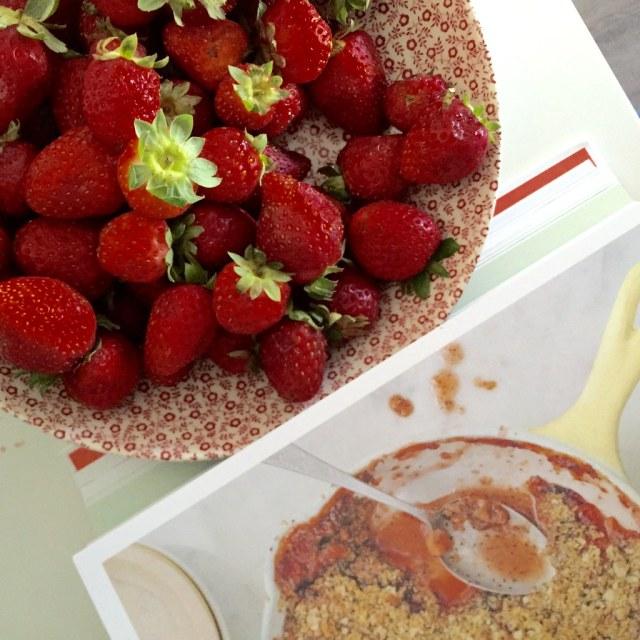 Strawberry crisp