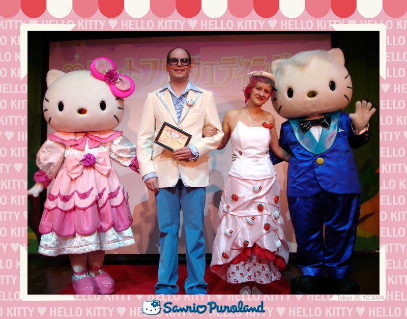 Hello Kitty Wedding at Puroland Tokyo