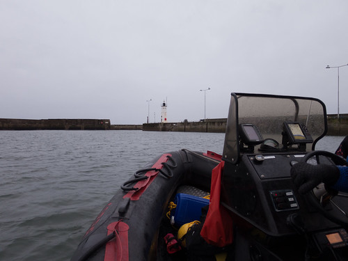 Leaving Anstruther Harbour