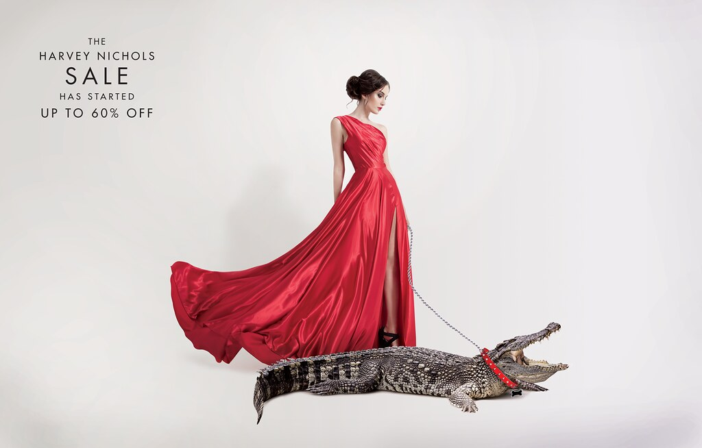 Harvey Nichols - Pet Crocodile