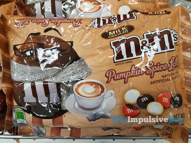 Pumpkin Spice Latte Milk Chocolate M&M's