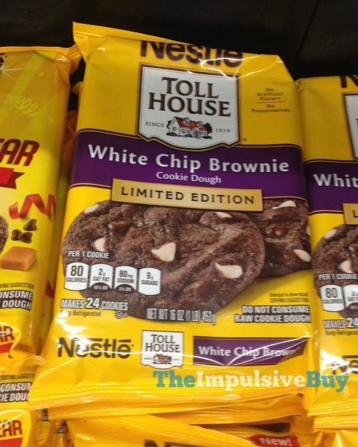 Nestle Toll House Limited Edition White Chip Brownie Cookie Dough