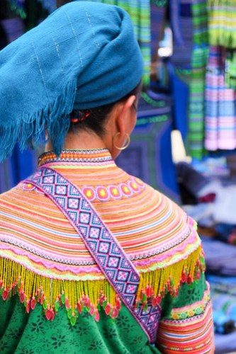 Bac Ha. Explosion of color