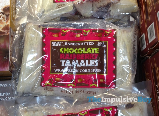 Trader Joe's Handcrafted Chocolate Raspberry Tamales