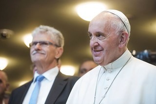 Pope Francis visiting UNHQ
