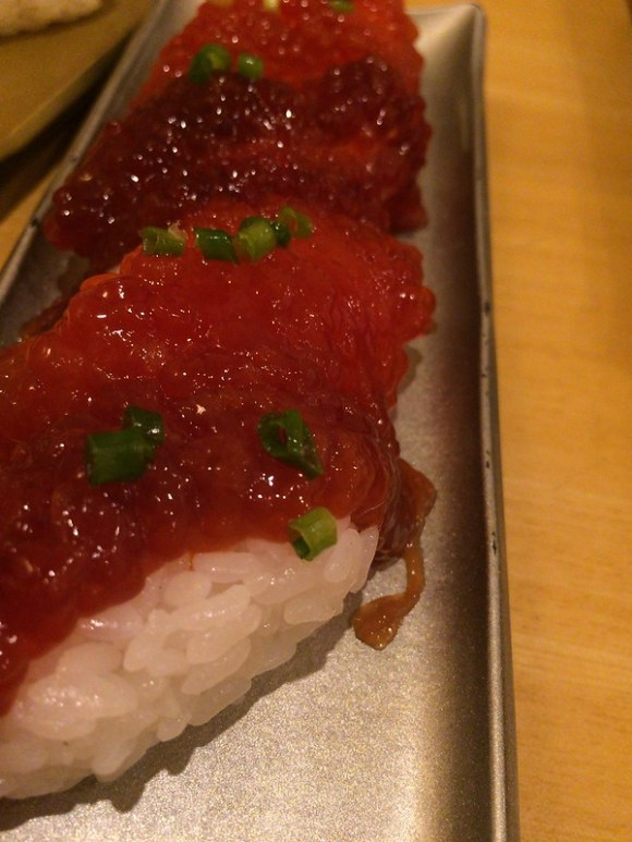 紅鮭筋子醤油漬け