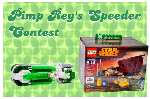 Pimp Reys Speeder Contest!