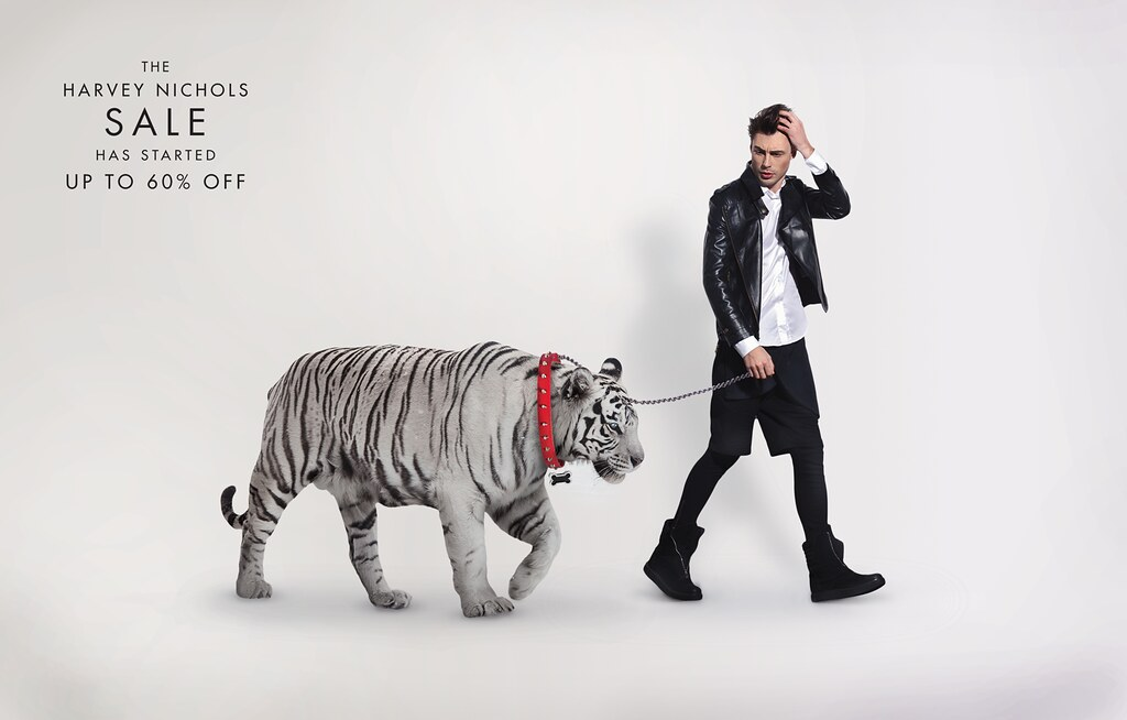 Harvey Nichols - Pet White Tiger