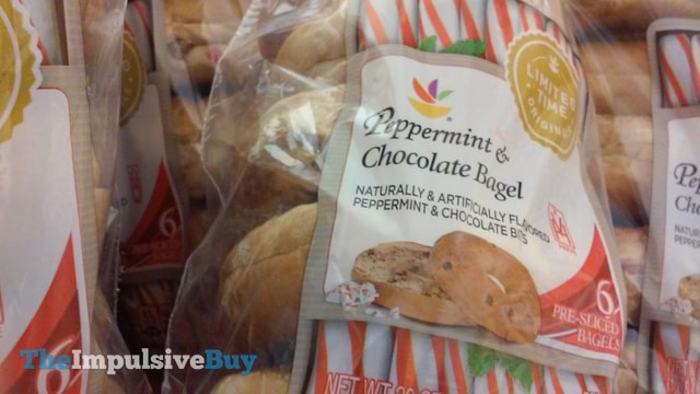 Giant Limited Time Originals Peppermint & Chocolate Bagel