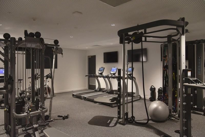 fitness centre - novotel melbourne south wharf