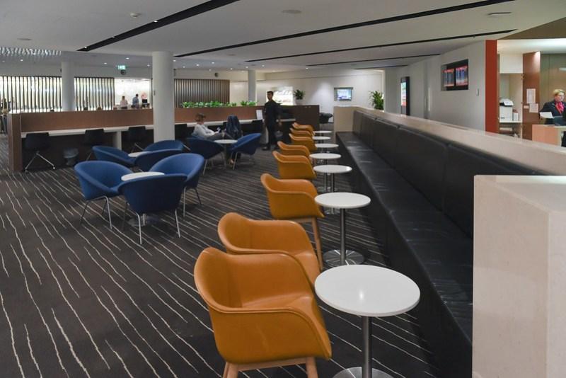 qantas business lounge melbourne
