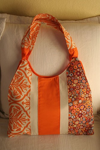 orange marmelade bag