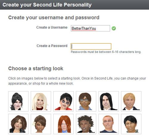 SL username