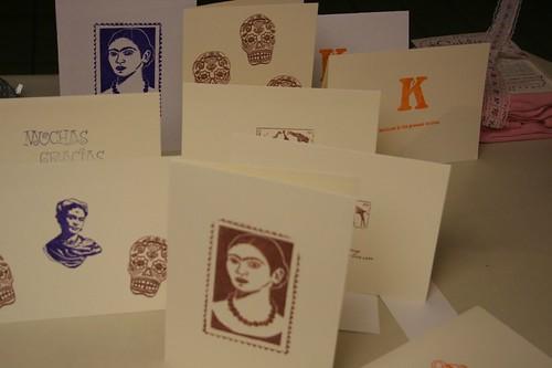 this week's stamped cards
